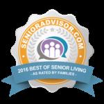 SeniorAdvisor.com Best Of Senior Living 2016