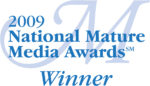 2009 National Mature Media Awards Winner logo